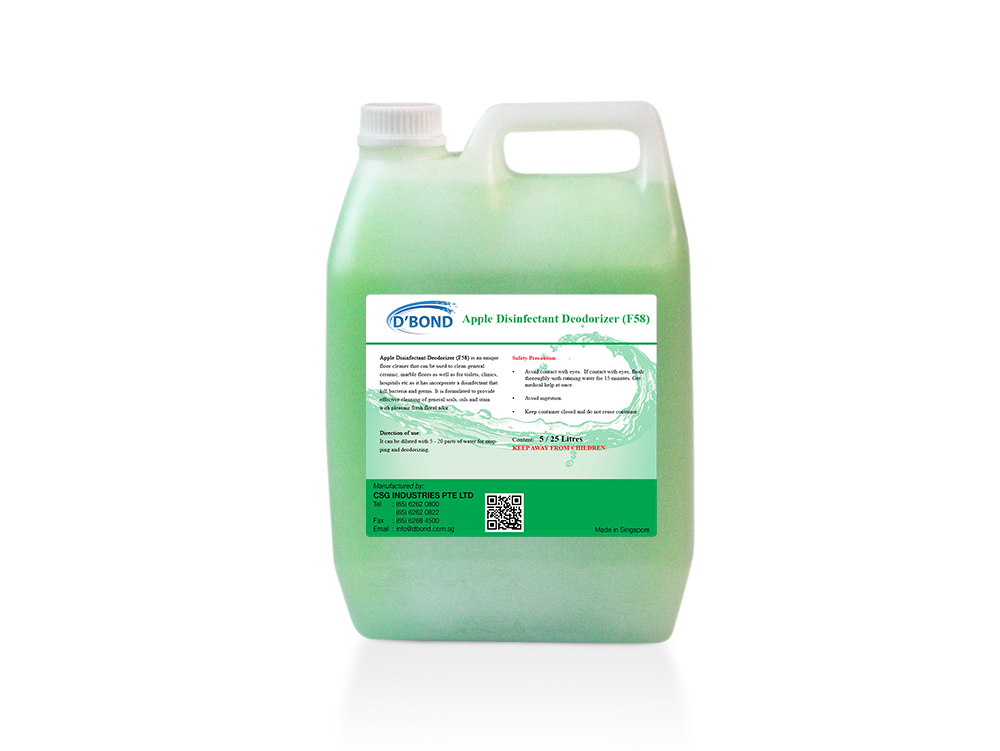 Apple Disinfectant Deodorizer (F58)